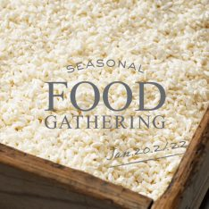 SEASONAL FOOD GATHERING 2017.1.20(金)- 1.22(日)