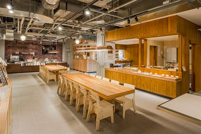 share star kitchen share star hakodate branding space projects welcome co ltd - Star Kitchen